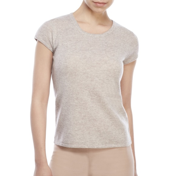 ply cashmere Sweaters - 100% cashmere short sleeve sweater XS nwt